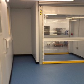 Cleanroom Controlled Doors